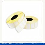 Термоэтикетка 30х20мм ЭКО, диаметр втулки 40мм, 2000шт в одном рулоне
