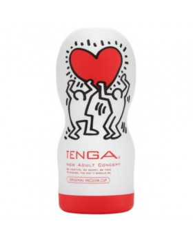 Мастурбатор 'TENGA Origenal vacuum cup people with hart'
